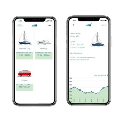marine monitoring app
